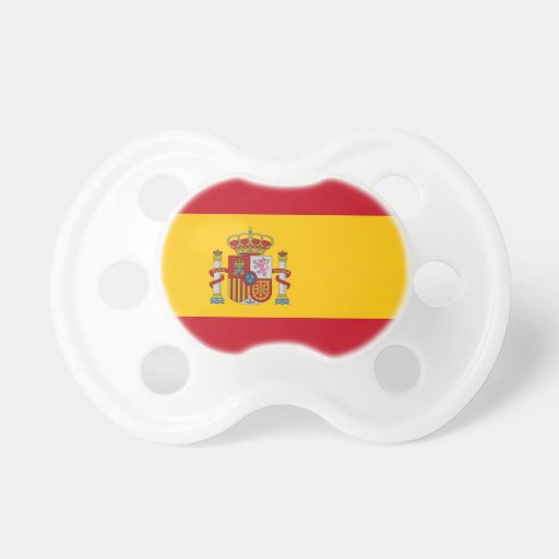 Pacificador con la bandera de España Chupete
