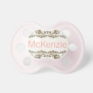 Pacificador conocido personalizado personalizado d chupetes de bebe