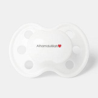 Pacificador de Alhumdulillah Chupetes Para Bebés