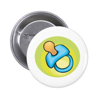 Pacificador de Babys Pin Redondo De 2 Pulgadas
