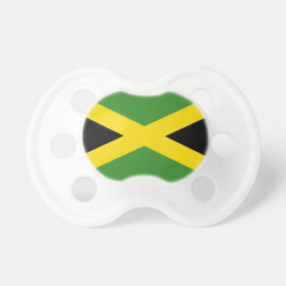 Pacificador de Booginhead de la bandera de Jamaica Chupetes De Bebé