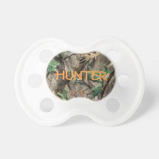 Pacificador de Camo de la caza con nombre Chupetes Para Bebes