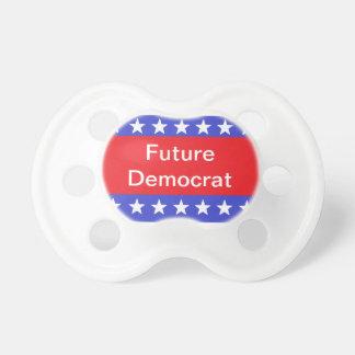 """Pacificador de """"Demócrata futuro"""" Chupetes Para Bebes"""