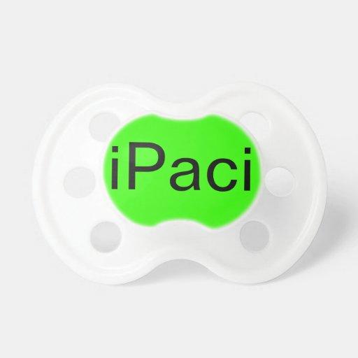pacificador de encargo de BooginHead® del iPaci (0 Chupete