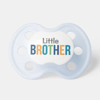 Pacificador de encargo del bebé del muchacho de pe chupetes para bebés
