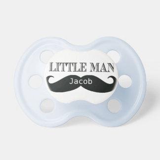 Pacificador de encargo del pequeño bigote del homb chupetes para bebés