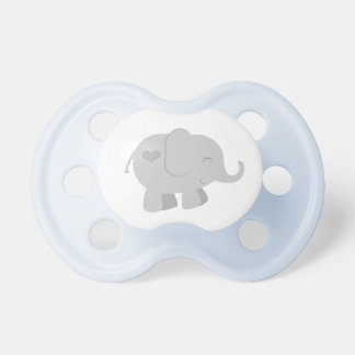 Pacificador de encargo gris del bebé del bebé el | chupete de bebé