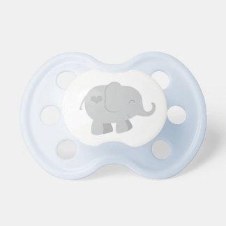 Pacificador de encargo gris del bebé del bebé el | chupetes para bebes