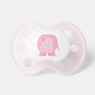 Pacificador de encargo rosado del bebé de la niña chupetes para bebes