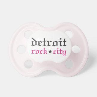 Pacificador de la ciudad de la roca de Detroit de  Chupetes Para Bebes