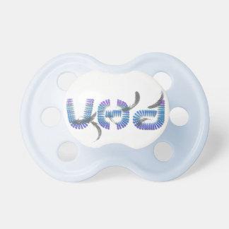 Pacificador de la firma de VHD Chupetes