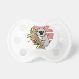 Pacificador de la koala chupetes