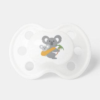 Pacificador de la koala de Babywearing Chupete