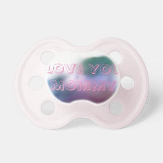 Pacificador de la mamá del amor:) chupete de bebe