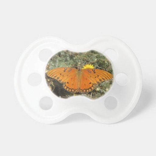 Pacificador de la mariposa del Fritillary del golf Chupete De Bebe
