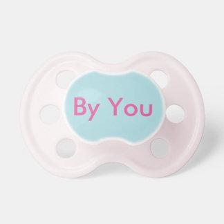 Pacificador de la niña: Aguamarina Chupete De Bebe