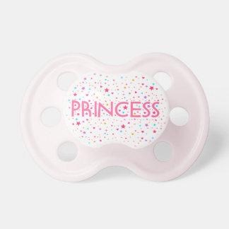 Pacificador de la niña de princesa Stardust Chupetes De Bebe