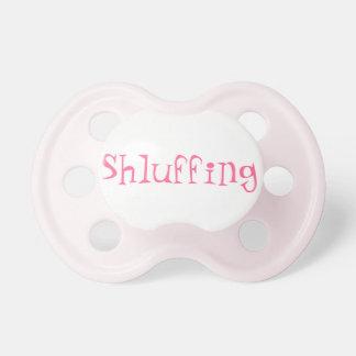Pacificador de la niña de Shluffing Chupetes De Bebe