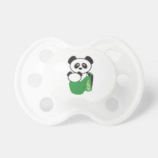 Pacificador de la panda de Babywearing Chupete De Bebe