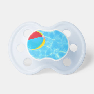 Pacificador de la pelota de playa chupetes de bebe