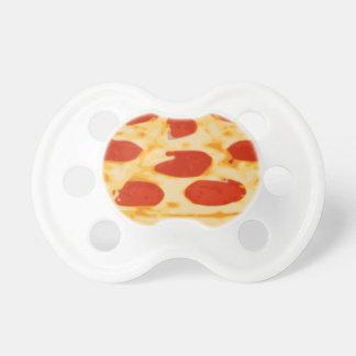 Pacificador de la pizza chupete de bebé