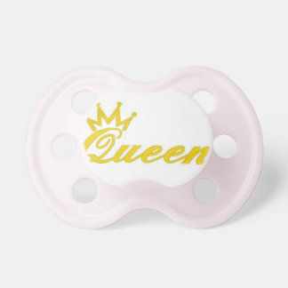 pacificador de la reina chupetes para bebes