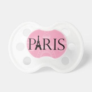 Pacificador de la torre Eiffel de París Chupetes Para Bebes