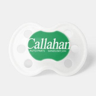 Pacificador de las piezas de automóvil de Callahan Chupetes De Bebe
