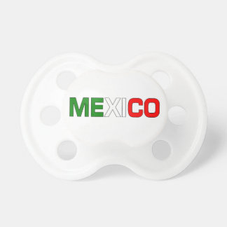 Pacificador de México Chupete De Bebé