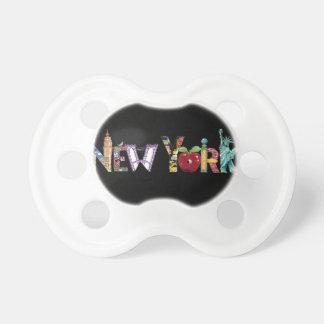 Pacificador de Nueva York Chupete