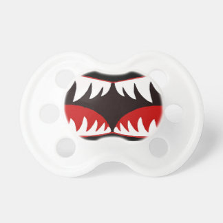 Pacificador de Sharkmouth Chupetes Para Bebés