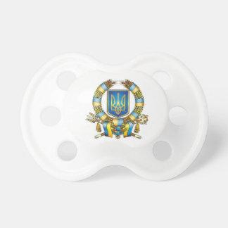 Pacificador de Tryzub del ucraniano Chupetes De Bebé