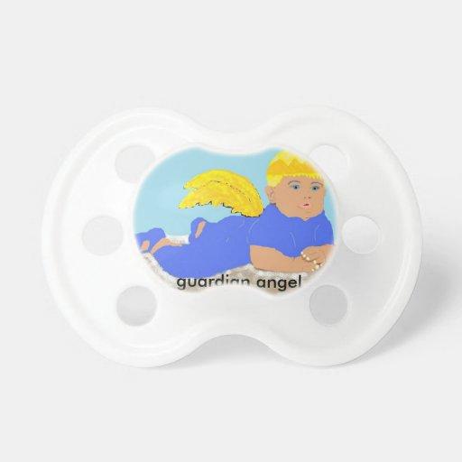Pacificador del ángel de guarda chupetes para bebés