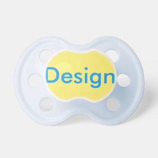 Pacificador del bebé: Amarillo claro Chupetes De Bebe