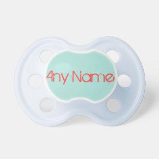 Pacificador del bebé: Aquamarine Chupetes De Bebé