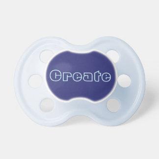 Pacificador del bebé: Azules marinos Chupete De Bebé