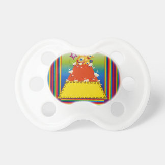 Pacificador del bebé con diseño abstracto de las chupete de bebe
