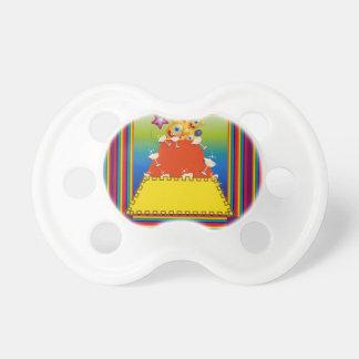 Pacificador del bebé con diseño abstracto de las chupetes de bebe