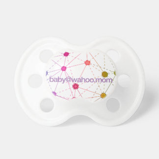 """pacificador del bebé de """"baby@wahoo.mom"""" chupetes de bebe"""