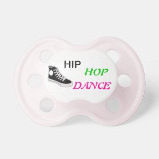 Pacificador del bebé de la danza de Hip Hop Chupetes De Bebé