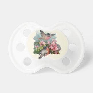 Pacificador del bebé de la flor de cerezo chupetes de bebé