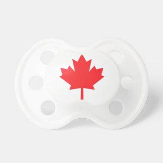 Pacificador del bebé de la hoja de arce de Canadá Chupete De Bebe