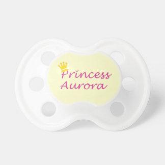 """Pacificador del bebé de """"princesa Aurora"""" Chupete De Bebe"""