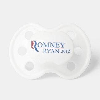 Pacificador del bebé de Romney de la menta Chupetes De Bebe