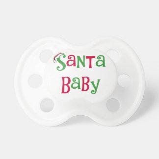 Pacificador del bebé de Santa Chupetes