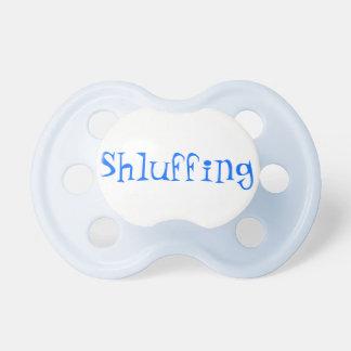 Pacificador del bebé de Shluffing Chupetes De Bebe