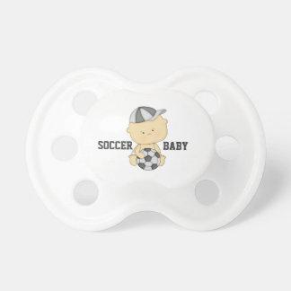 Pacificador del bebé del fútbol chupetes
