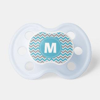 Pacificador del bebé del monograma del modelo de C Chupetes De Bebe
