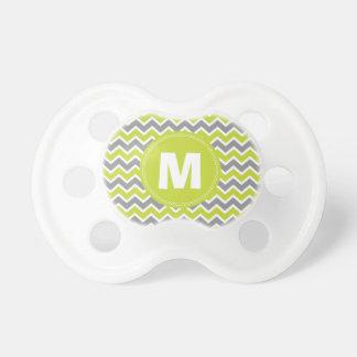 Pacificador del bebé del monograma del modelo de C Chupete De Bebe