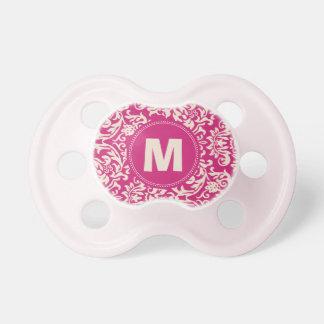 Pacificador del bebé del monograma del modelo del  chupetes para bebes